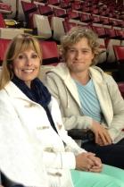 Charlie White & his mom